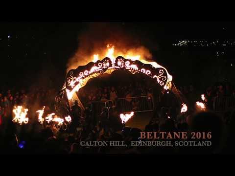 Beltane 2016, Calton Hill, Edinburgh, Scotland.