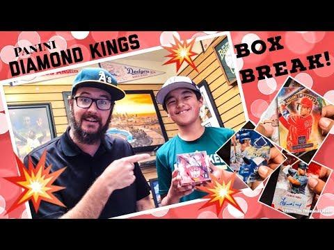 FAN BOX BREAK!! 2018 Diamond Kings Baseball!