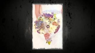 Свадебные пригласительные ручной работы Gilliann White Butterfly INV047