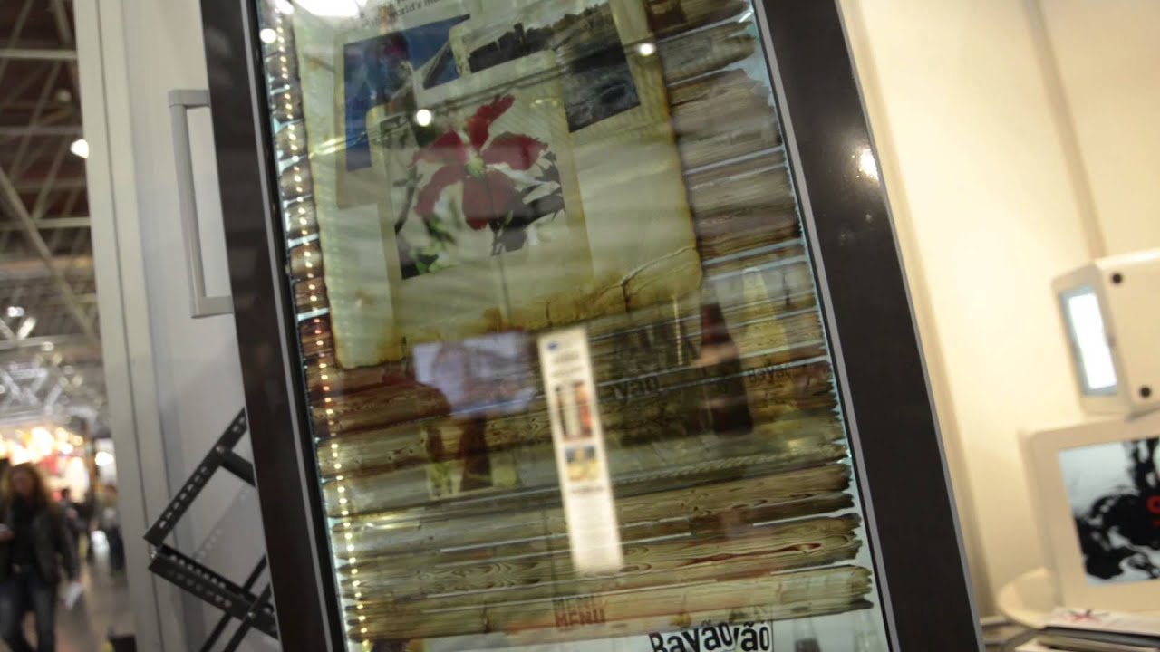 see through refrigerator. Transparent LCD Refrigerator (see-through Display \u0026 MultiTouch) - YouTube See Through F