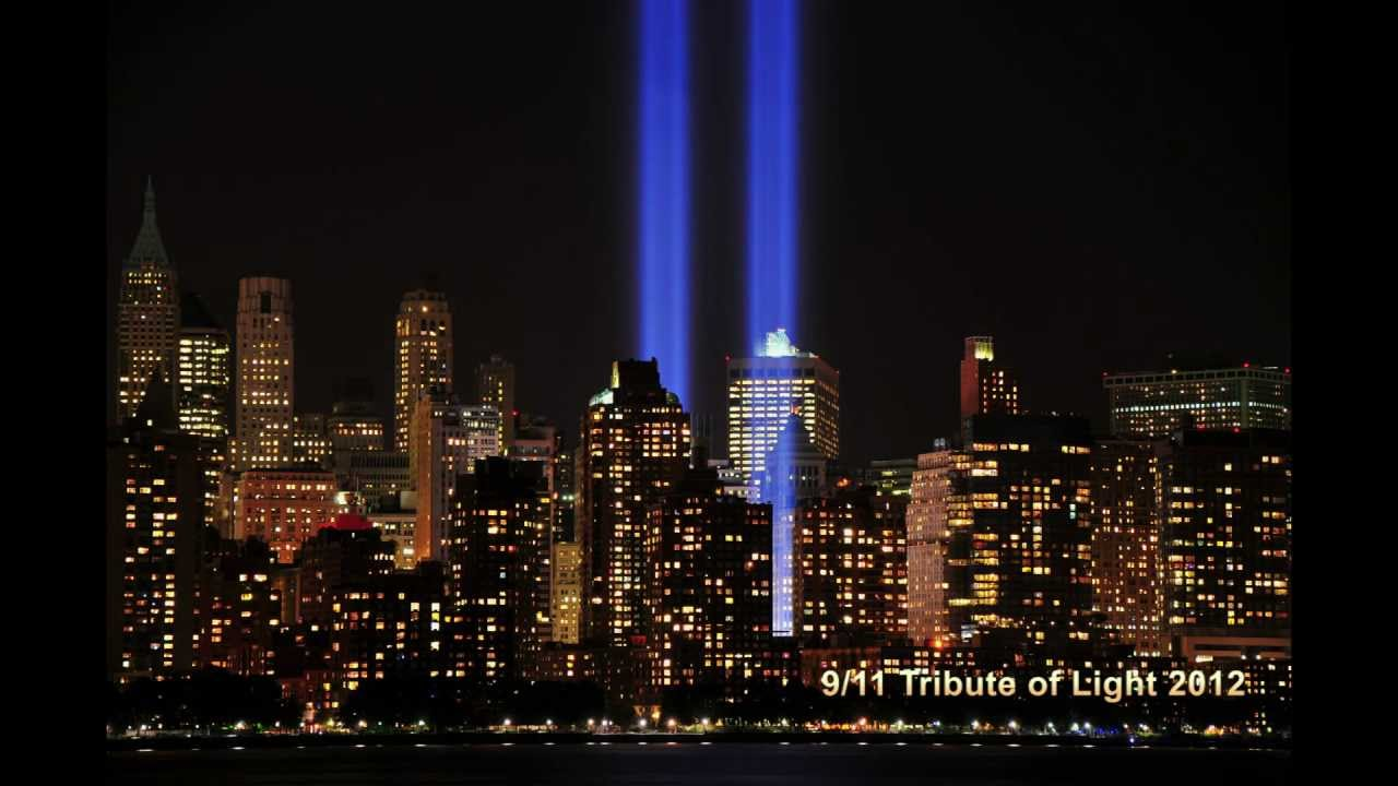 Exceptional World Trade Center 9/11 Tribute Of Light 2012 HD   YouTube Idea