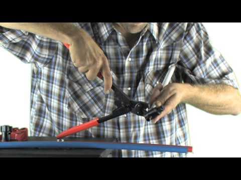 iplumb pex crimp valve youtube. Black Bedroom Furniture Sets. Home Design Ideas