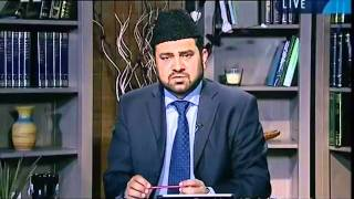A caller wishes to accept Ahmadiyyat