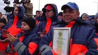 Минниханов открыл два участка дороги М 7 «Волга»