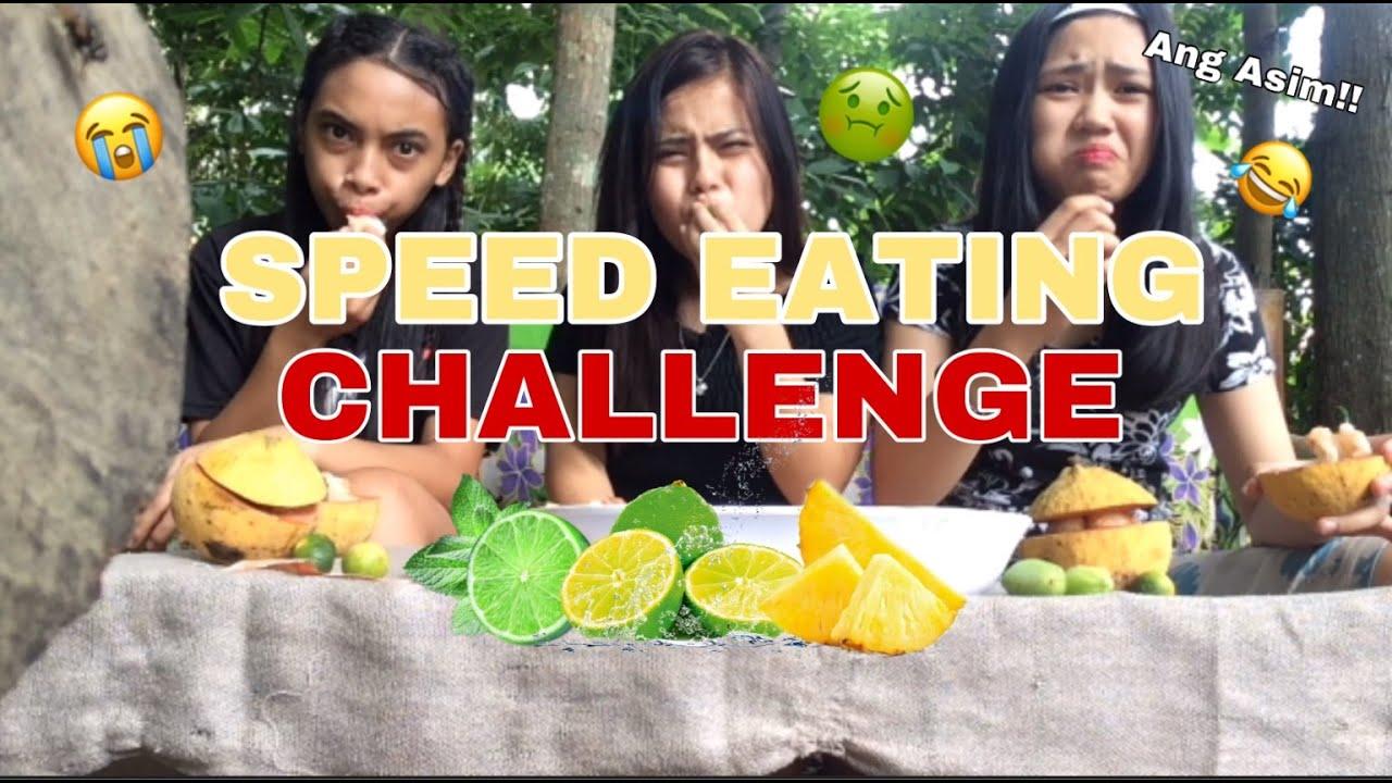"SPEED EATING CHALLENGE "" SOUR EDITION! ""(Asim kilig)"