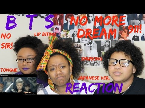 BTS - No More Dream (Japanese MV ) REACTION