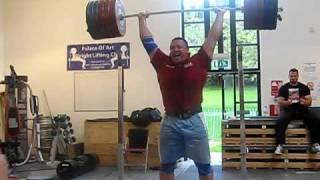 Koklayev 270kg jerk