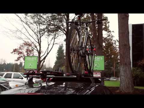 Zipcar 101: How do I use the Yakima Bike Rack? | Zipcar