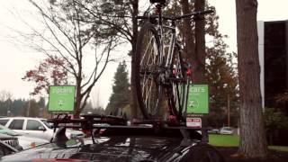 Zipcar 101: How do I use the Yakima Bike Rack?