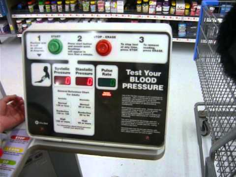 Free Blood Pressure Machine at Walmart