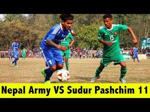 Hetauda Gold Cup  Nepal Army Club VS Sudur Pashim 11 Refri Fault