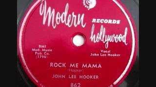 Watch John Lee Hooker Rock Me Mama video
