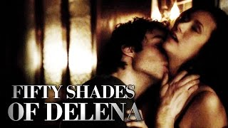 ► FIFTY SHADES OF DELENA || Damon & Elena [ Crazy In Love ]