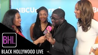 Cast of 'The Carmichael Show' | NBC Universal Press Tour 2016 | BHL