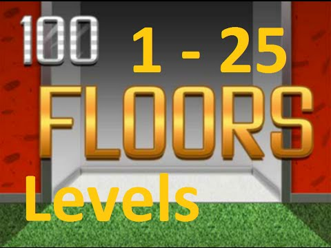 100 Floors Can You Escape Level 1 25 1 25