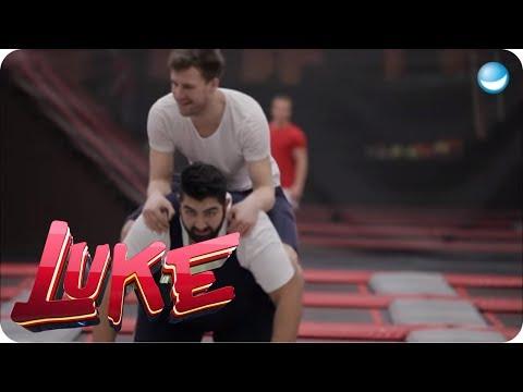 Fit für Olympia - Trainingseinheit mit Fabian Hambüchen - LUKE! Die Woche und ich