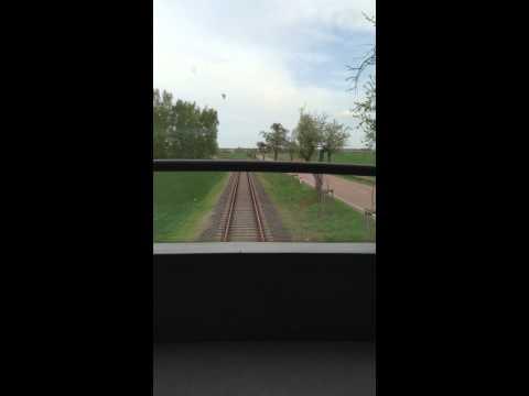 Dessau Wörlitzer Eisenbahn CabView Part 4 Oranienbaum - Wörlitz