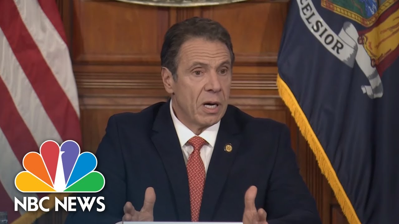 Cuomo issues executive order for all NY residents to wear masks in public | NBC News