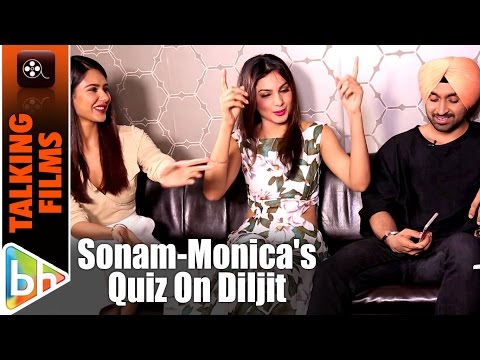 How Well Do Sonam Bajwa-Monica Gill Know Diljit Dosanjh?