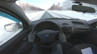2013 Lada Kalina Универсал 1.6l (82) Pov Test Drive