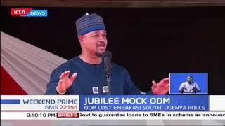 Jubilee leaders now claiming David Ocheing, Mawathe\'s victory
