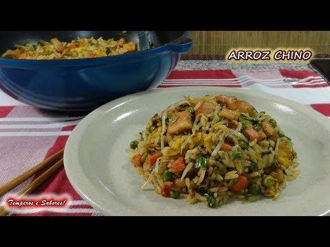 ARROZ CHINO CASERO, delicioso y facilito להורדה
