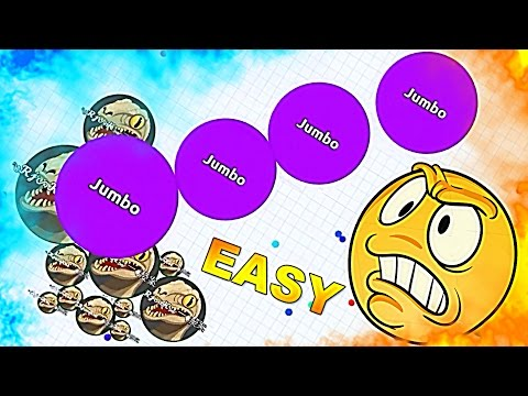 HOW TO DESTROY TEAMS IN AGARIO [EASY] - Agar.io solo