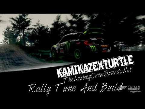 2014 Volkswagen Beetle GRC Rally Tune And Build Forza Horizon 2