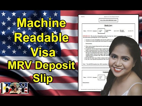 K1 Visa How to Download your MRV Deposit Slip for Paying the Interview Fee!(Tutorial)