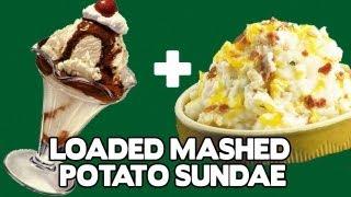 Loaded Mashed Potato Sundae - Food Mashups