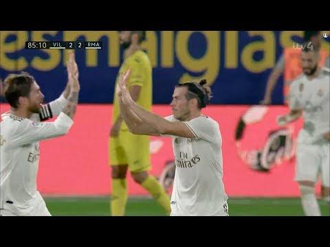 Gareth Bale vs Villarreal (01/09/2019) HD 720p