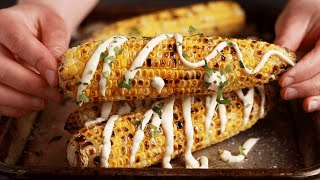 Grilled Corn With Lime Aioli