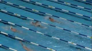 2012 Trials Phelps v Lochte 400 IM Race