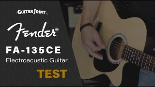 Fender FA-135CE Natural Electroacustic Guitar TEST