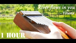 River Flows In You, Yiruma 이루마 - 1 Hour Relaxing Kalimba 칼림바