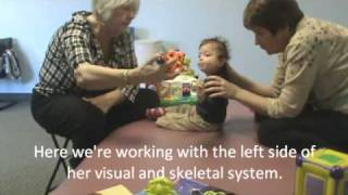 Coordinating Sitting and Vision on a Child with Visual and Developmental Delays