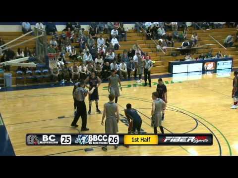 BBCC vs Bellevue College Basketball (3/5/16)