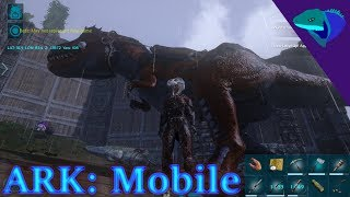 REX TAMING! OUR FIRST RIDE, ALPHA RAPTOR FIGHT! Ark: Mobile Episode 22 thumbnail