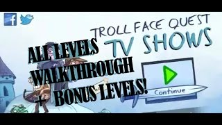Troll Face Quest TV Shows All Levels Walkthrough