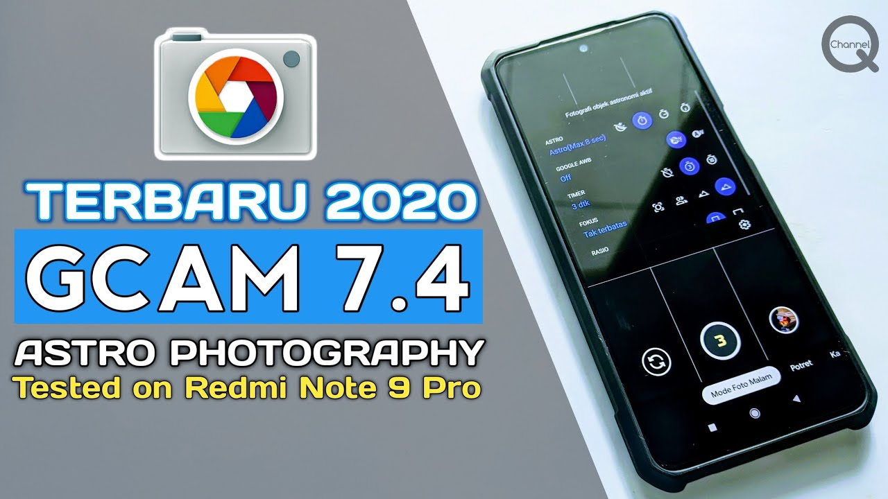 TERBARU ! Cara Install GCam v7.4 | Tested on Redmi Note 9 Pro