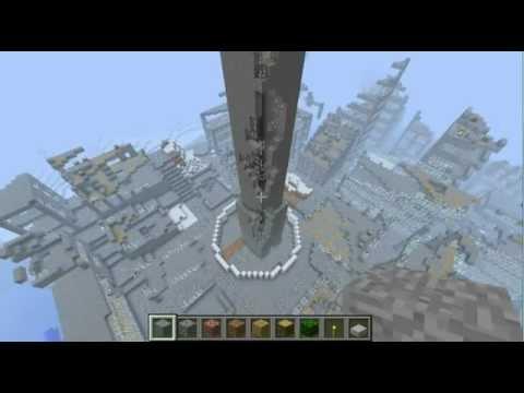 Minecraft Fallout 3 Washington Monument YouTube