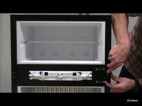 how to change ignitor on caravan fridge