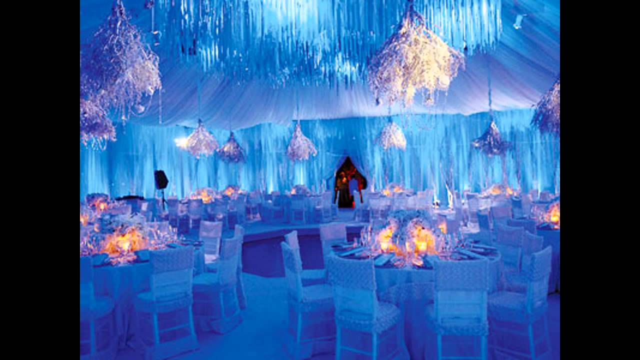 Best winter wedding reception decorations gallery styles ideas wonderful winter wonderland wedding decorations youtube solutioingenieria