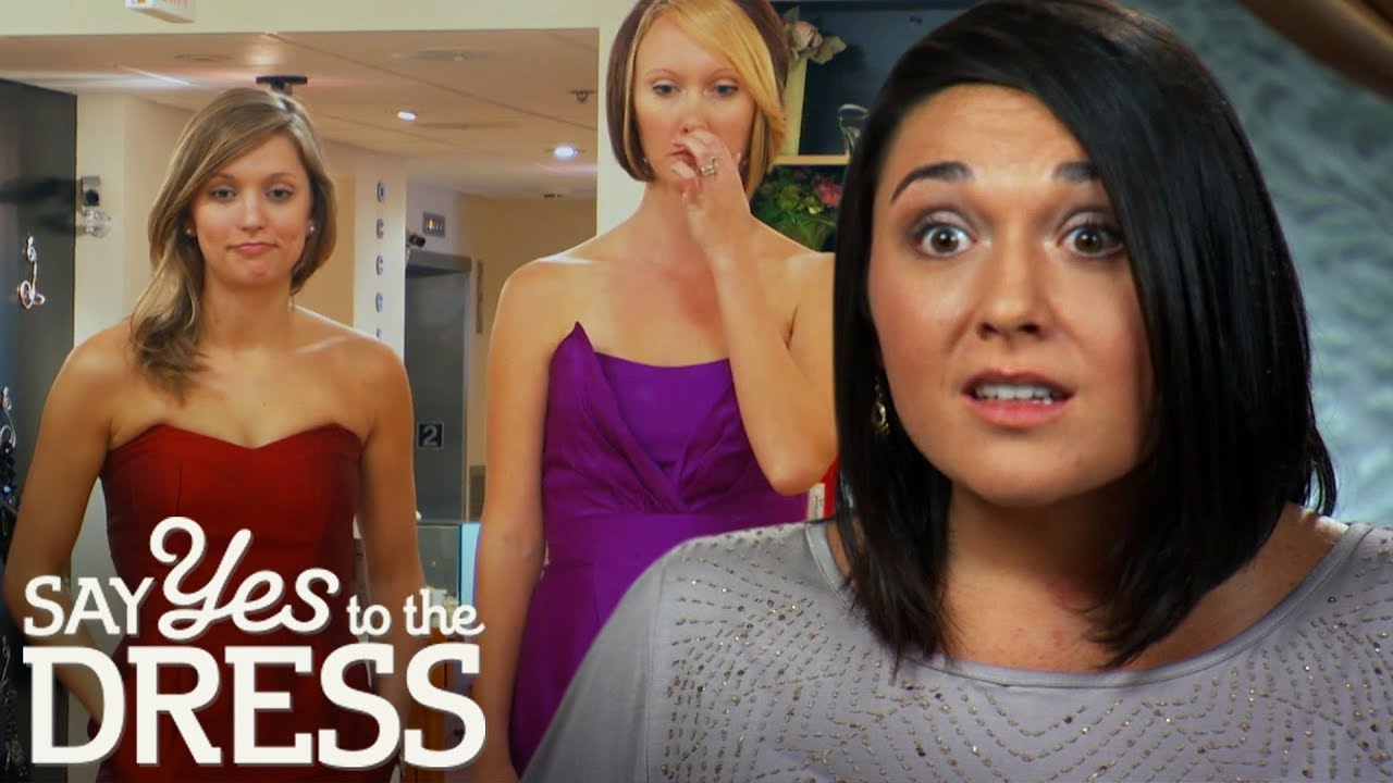 Download Mean Bride Attacks Bridesmaids Throughout Entire Appointment! | Say Yes to the Dress Bridesmaids