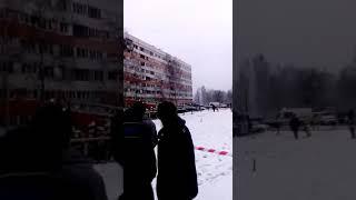Смотреть видео Взрыв газа / Санкт Петербург / Общежитие онлайн