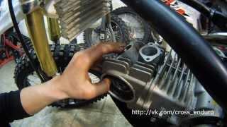 Питбайк Kayo 140 - Ремонт и доработка головки цилиндра
