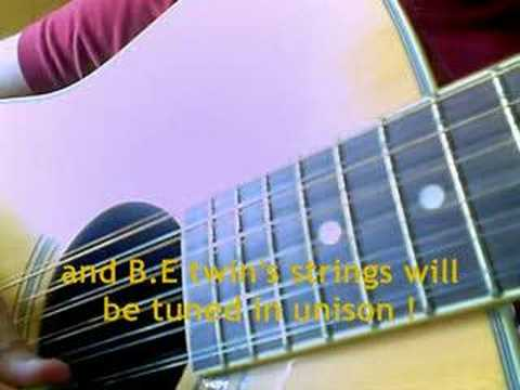 how to tune a 12 string guitar commented lesson youtube. Black Bedroom Furniture Sets. Home Design Ideas
