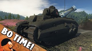 War Thunder - Char B1 ter ' Two Guns = More Fun!'