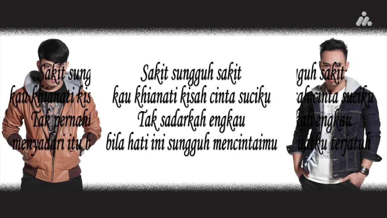 Ilir7 Sakit Sungguh Sakit Official Lyric Video Youtube