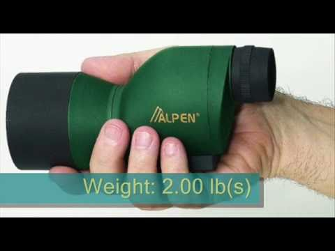 Cute Alpen mini spotting scope!